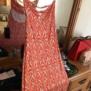Bebe Summer maxi dress